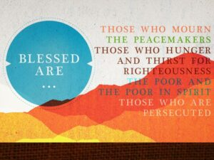Blessed are ....